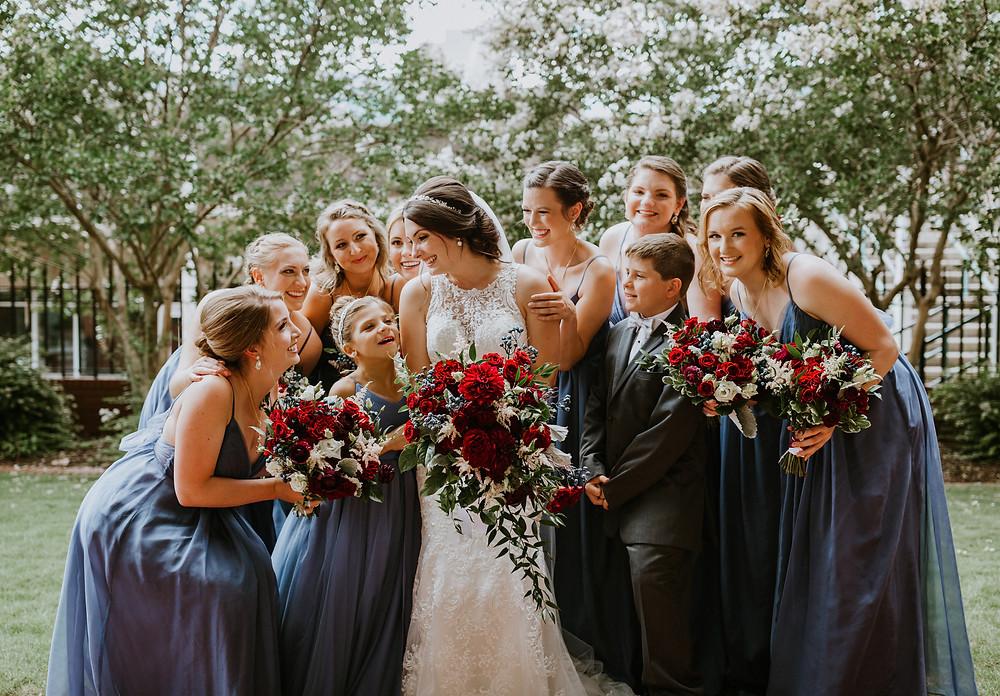 bridesmains candid