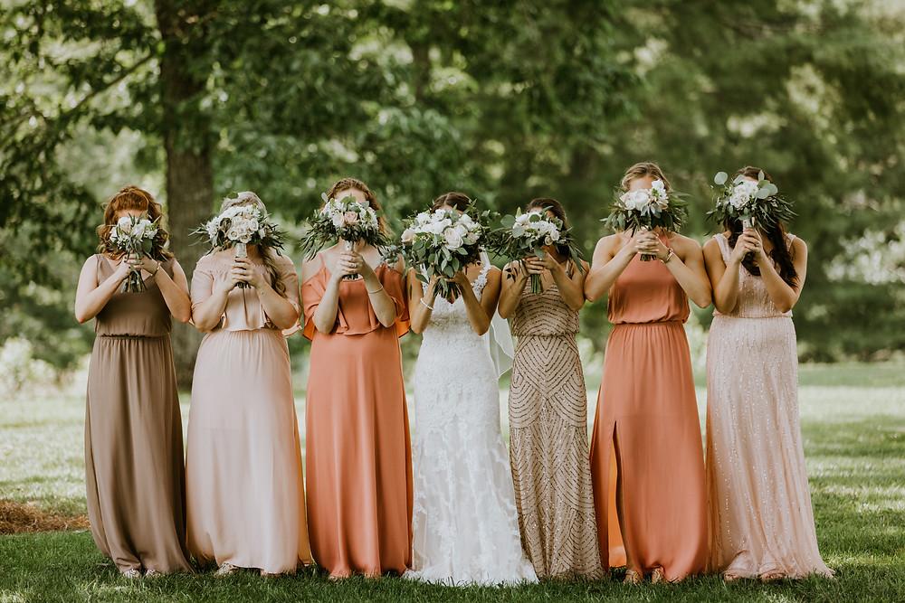 bridesmaids flower