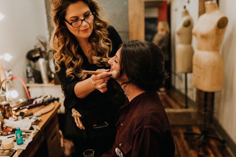Formal Faces Atlanta hair and makeup vendors