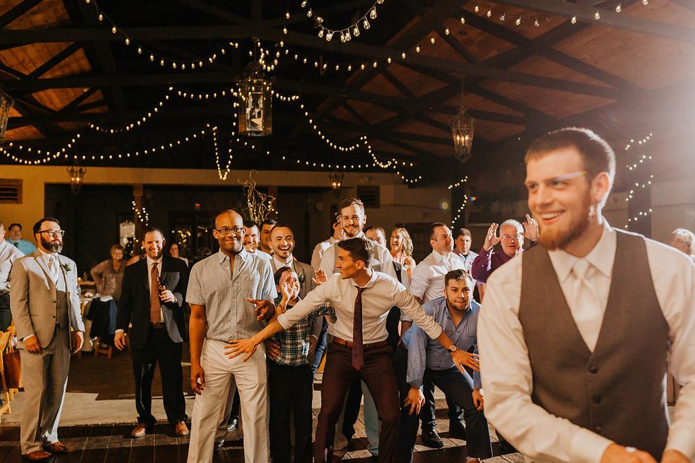 groom throws gater