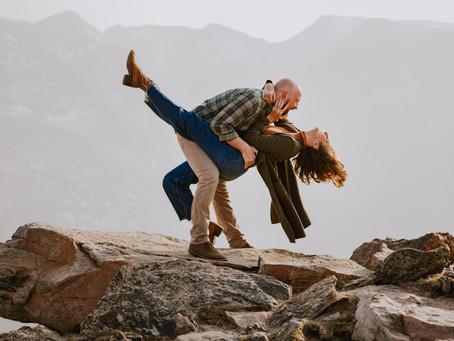 Rachel & Joey | Rocky Mountain Anniversary Session