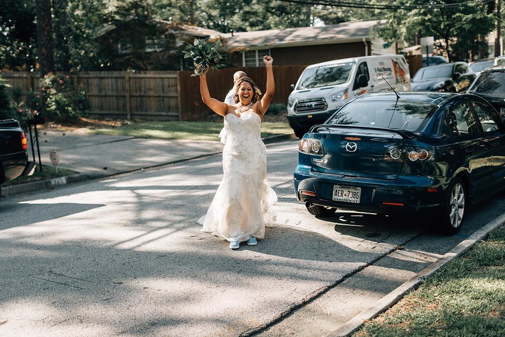 Atlanta documentary wedding photographer