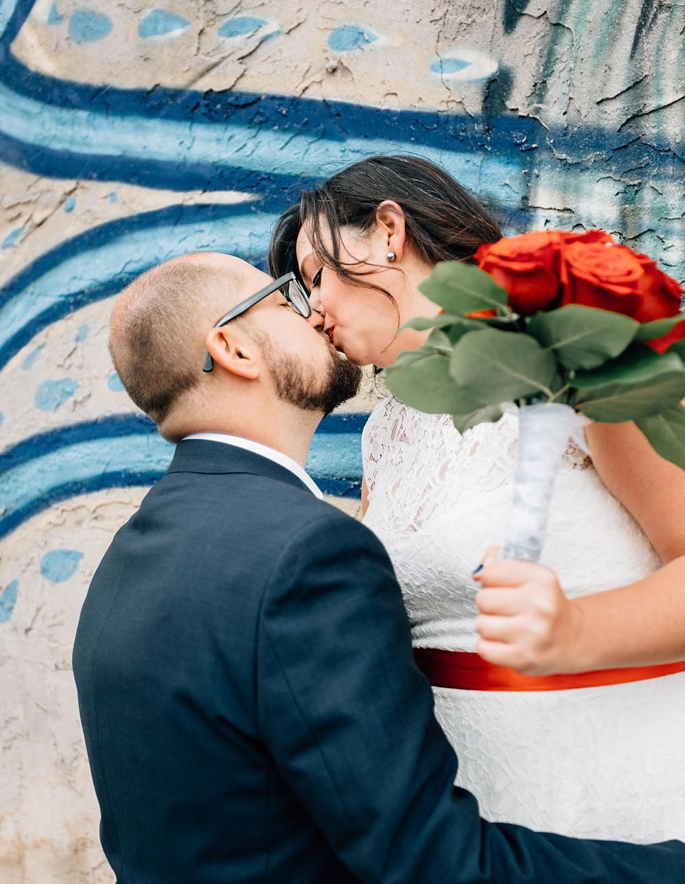 Offbeat Atlanta wedding