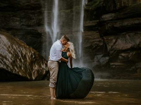 Kaitlyn & Michael's Toccoa Falls Engagement Session