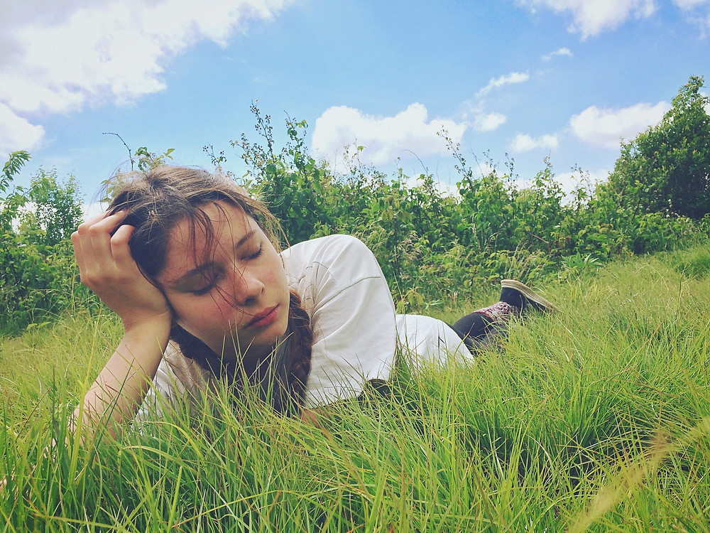 Nap in the meadow