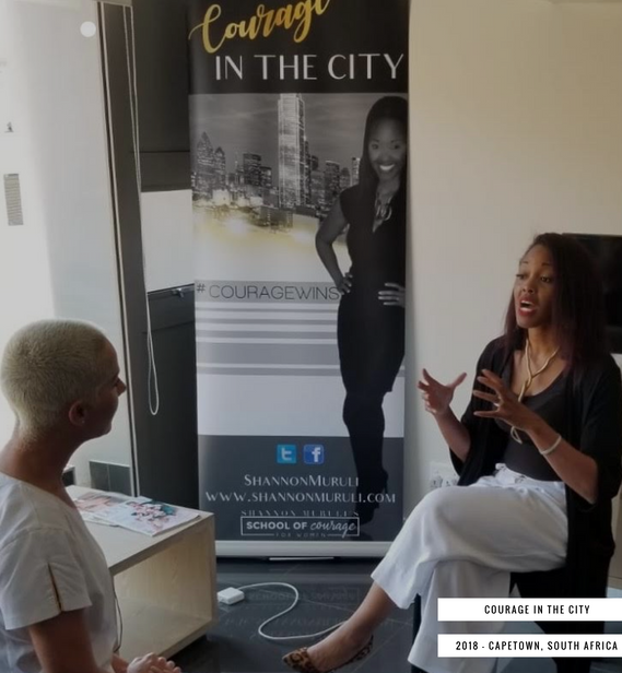 Courage In The City - Capetown December 2018