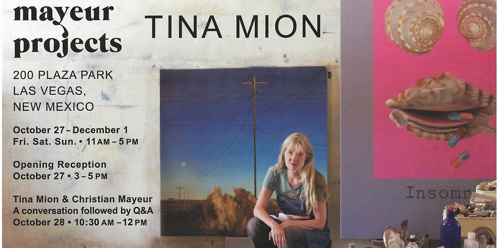 """Mayeur Projects proudly presents Tina Mion """"Midnight Muse"""""""