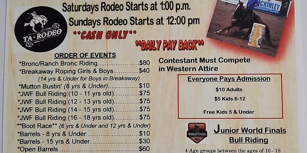 Mora Fiesta Days Rodeo