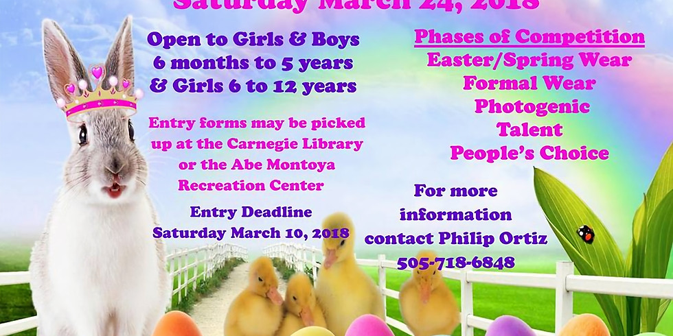 Easter Bunny Pageant 2018