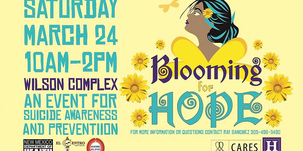 NMHU Cares Blooming for Hope 2018