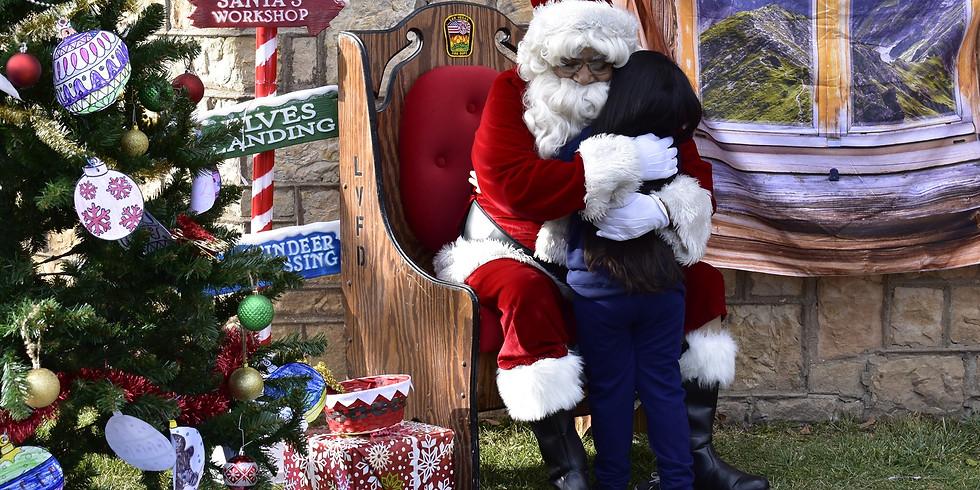 2020 Santa In the Park