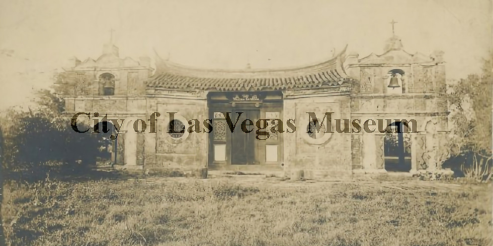 Phantoms of a Rail Town   The Chinese immigrant experience in Las Vegas, NM c.1882