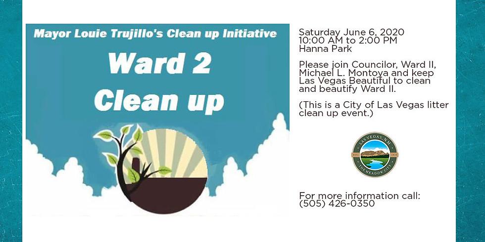 Mayor Louie Trujillo Clean Up