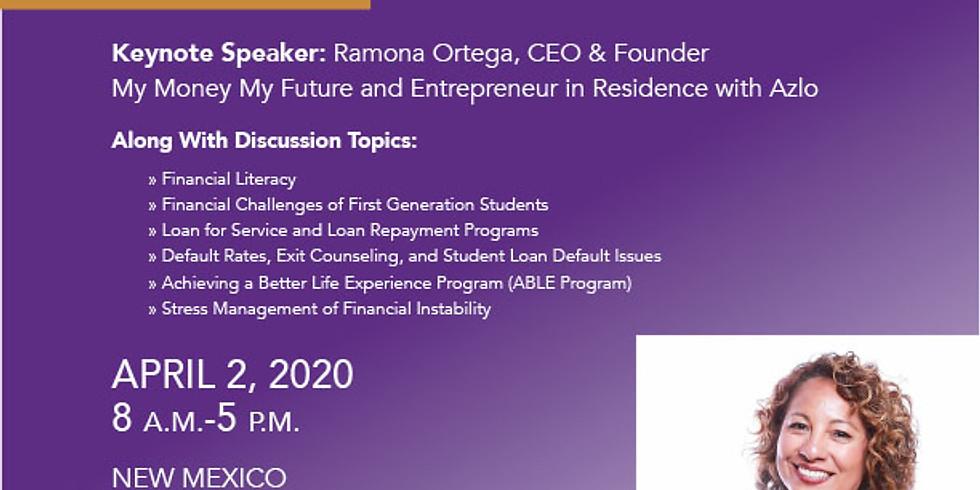 POSTPONED Till Further Notice 2020 Financial Literacy Forum