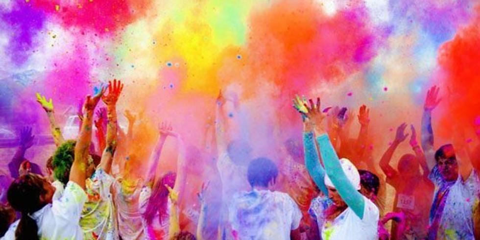 Color Fun Run At Storrie Lake Park
