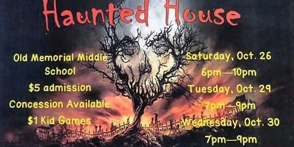 RHS Red Wave Band Haunted House