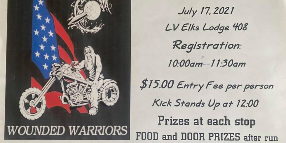 10th Annual Ride for Wounded Warriors