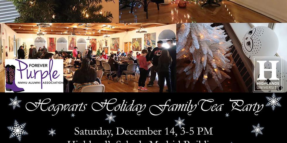Hogwarts Holiday Family Tea Party