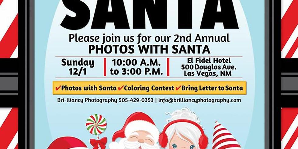 Bri-lliancy Photography presents Photos with Santa