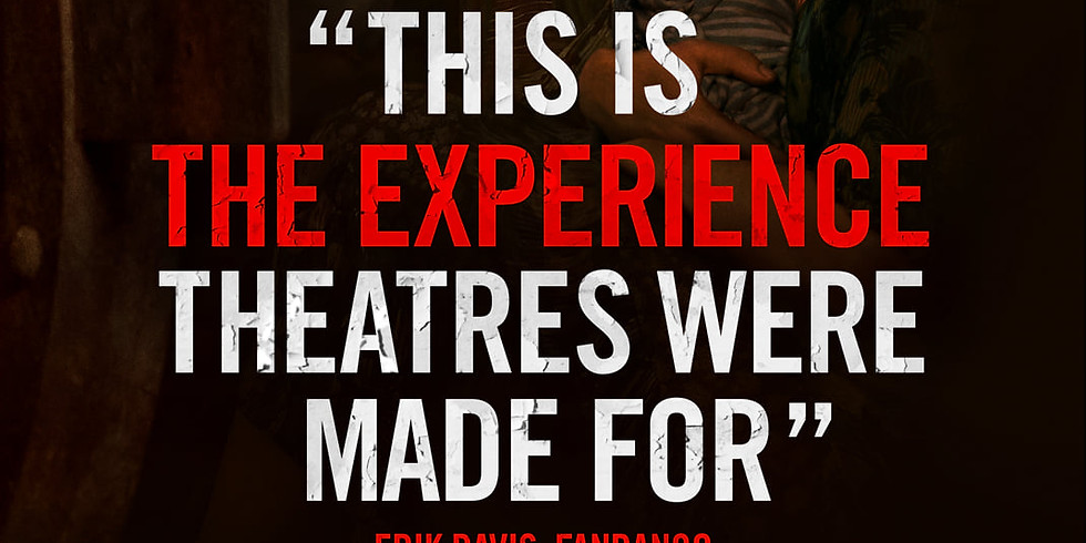 NOW PLAYING at the Indigo FOR A SECOND BIG WEEK....the frightful A QUIET PLACE PART 2