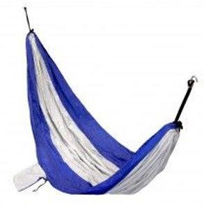 VISM® by NcSTAR® NYLON PARACHUTE HAMMOCK - BLUE & SILVER
