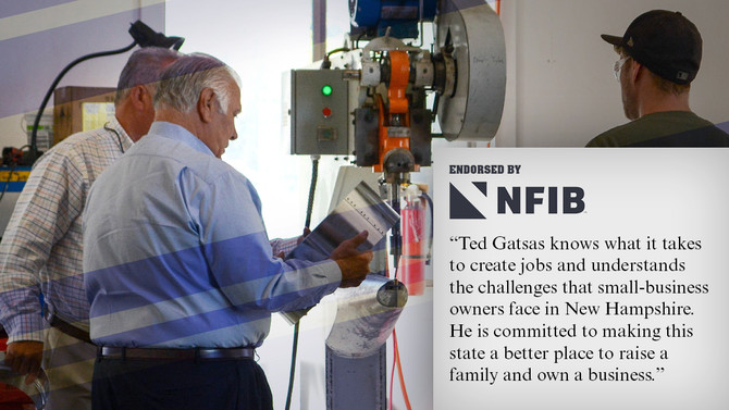 NFIB New Hampshire PAC Endorses Ted Gatsas for Executive Council