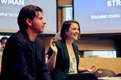 Rob Wijnberg Roundtable Photos by Leah Lucas 15 Sept 2017 5N7A5052