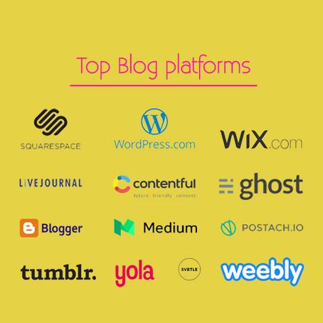 B for Blog