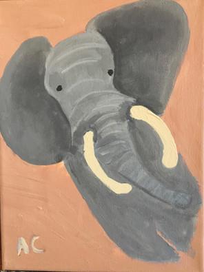 Elephant By Ameya (9yrs)