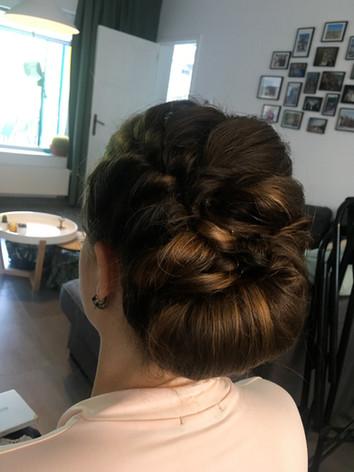 Updo & braids