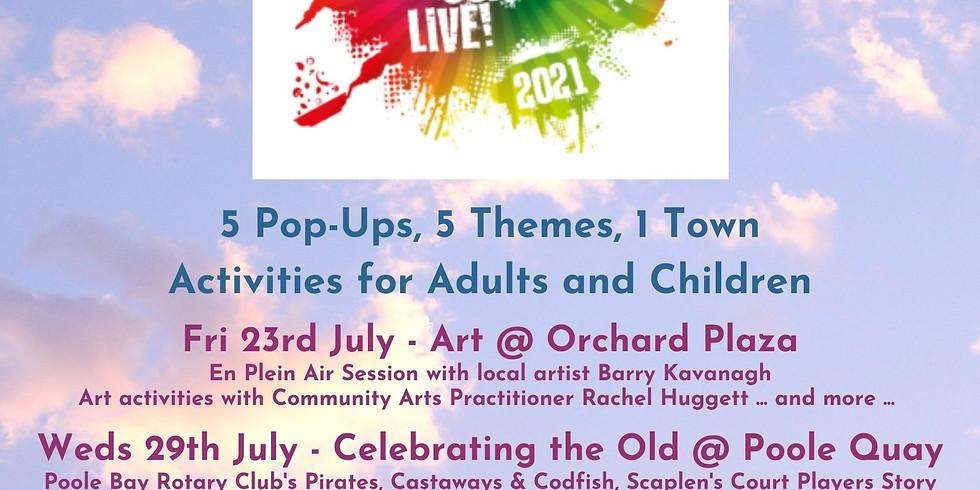 Festival Coast Live, Orchard Plaza, Poole