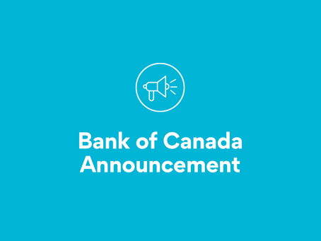 Bank of Canada Announcement March 2020