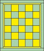 Alternate Squares