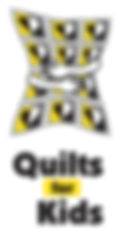 White,Yelow, & Black Official Quilts for Kid Logo