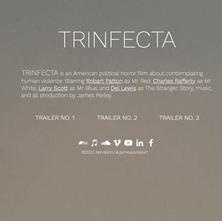 """""""TRINFECTA"""" Movie Website"""