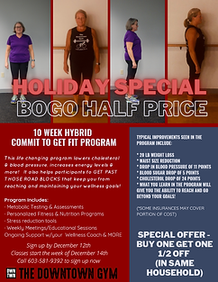 Commit to Get Fit Holiday Special