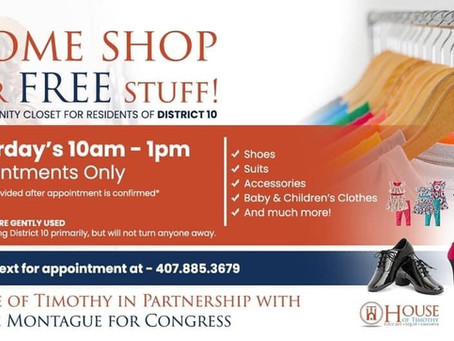 FREE Community Closet!