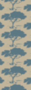 Slate acacia trees on tan