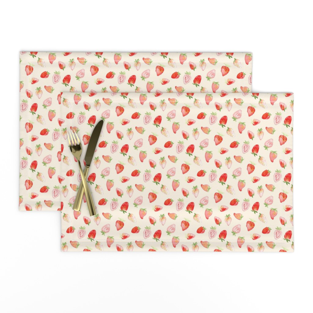 Placemat Strawberry