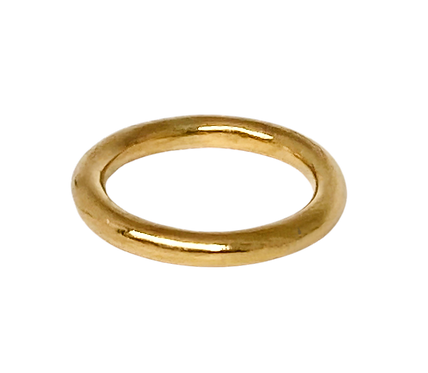 The Simplicity 3.0 Solid Gold Stacking Ring