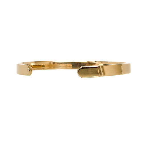 Solid Gold Cuff Bracelet