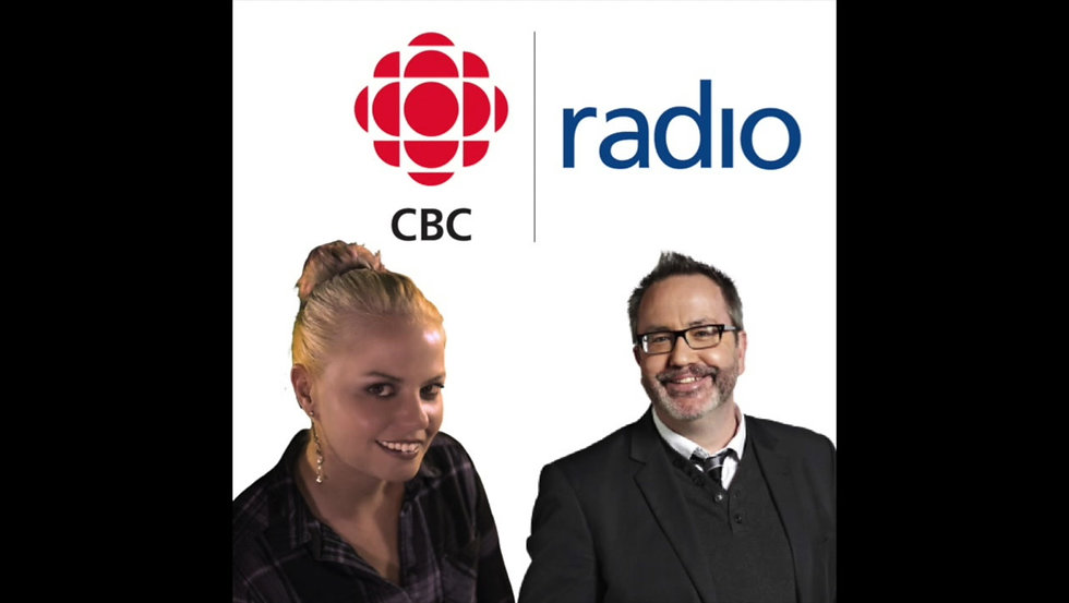 Sarah Buddy Sparks Fly on CBC Radio