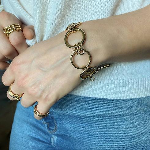 Warrior bracelet as seen in Tatler magaz