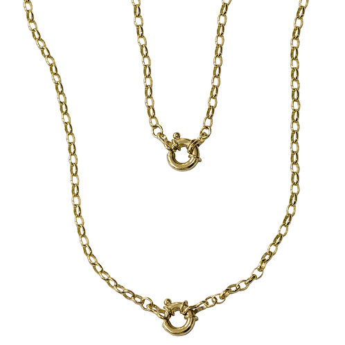Gold Adjustable Necklace Bracelet Combination Chain