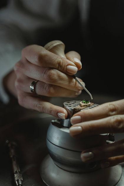 Bespoke jewellery design and repair  ser