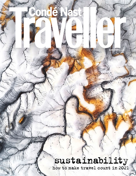 Conde Naste Traveller - March2021 cover.