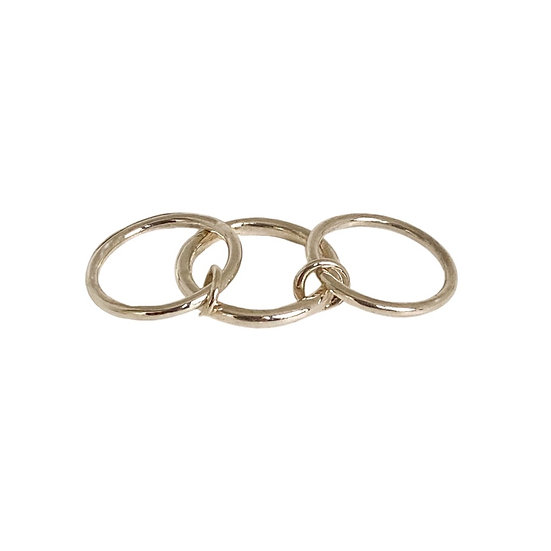 The Silver Pinky / Midi Ring