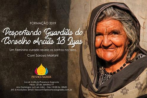 Formação Conselho das Anciãs das 13 Luas com Soraya Mariani