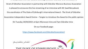 7th Cultural Event Saad Benyakoub IAC Award Coordinator