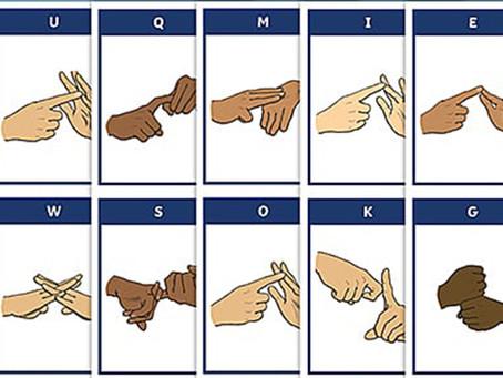 Sign Language Receives Top Billing